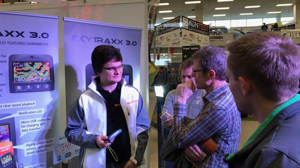 Jürgen Eckert, Skytraxx Chefentwickler
