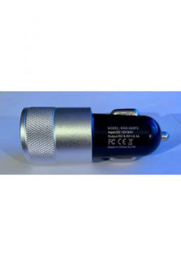 Autolader 12-24V Duo-USB - 2.1 A, 1.0 A